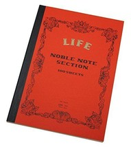 LIFE Noble Note Book 5mm Squared A4 100 sheet (N31) - $35.81