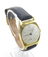 WW2 Vintage & Retro 14K Gold Swiss Tiffany and Co 15J Uhr Wrist Watch 1945 - $1,495.00