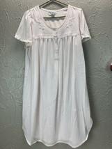 Miss Elaine Intimates Night Gown Pink Size Medium - $13.98