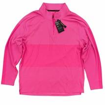 Nike Golf Dri-Fit Vapor 1/2 Zip Pullover Size XL Standard Fit Pink CU982... - $54.99