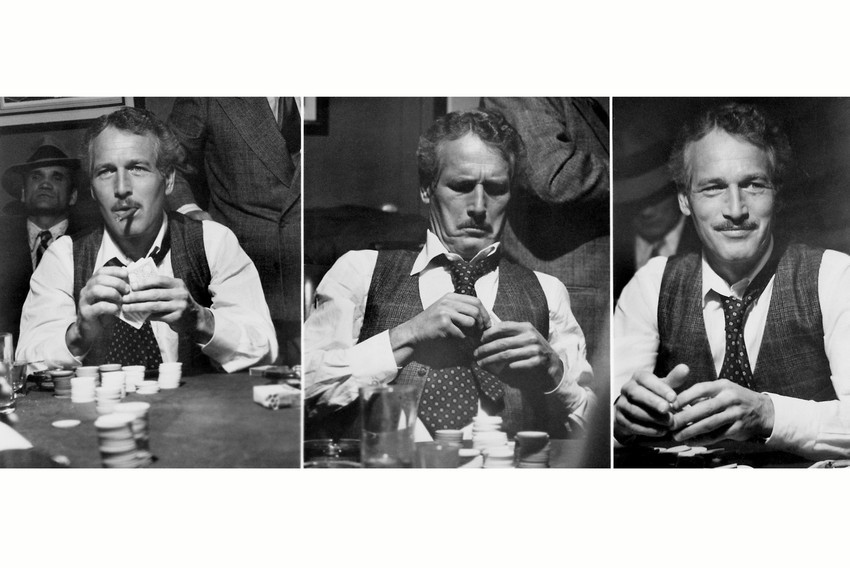Primary image for The Sting Paul Newman Classic Montage Playing Poker 18x24 Poster