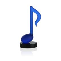 Daum Bleu Timeless by Manu Katché h 9.65 in. blue colour crystal 05697-1  France - $1,138.50