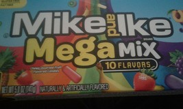 Mike and Ike Mega Mix 10 Flavors 5 oz Theater Box New In Box - $6.37