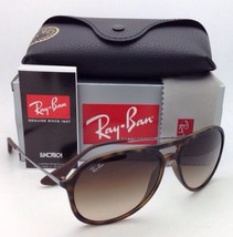 New RAY-BAN Sunglasses ALEX RB 4201 865/13 Rubber Havana Frames w/Brown ... - $179.95