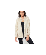 Young & Reckless Women's Sunrise Coach Jacket- Sand Size L NEW - $24.74