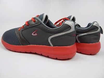 Geers Men's Athletic Sneaker Shoes Size US 7.5 M (D)  EU 40 Gray Red