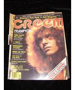 Creem October 1977 Peter Frampton Pink Floyd J Geils Marshall Tucker Min... - $12.99