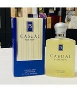 Casual for Men by Paul Sebastin 3.4 fl.oz / 100 ml Cologne spray, Rare f... - $249.98