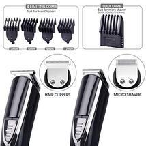 Beard Trimmer for Men, ALLFU Cordless Mustache Trimmer Waterproof Hair Trimmer C image 5