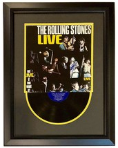 Keith Richards Record Album Cover Framed Vinyl Autographed Rolling Stones - $649.99
