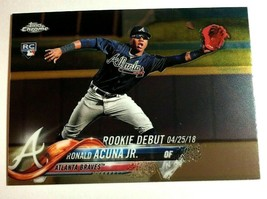 Ronald Acuna Jr. RC 2018 Topps Update Mega Box Chrome Rookie#31 PSA10?Br... - $19.79