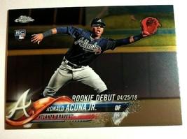 Ronald Acuna Jr. RC 2018 Topps Update Mega Box Chrome Rookie#31 PSA10?Braves RC - $19.79