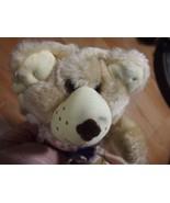 1986 Happy Hollidays WENDY'S Bear Furskins HATTIE BEAR Tags still attached - $19.79