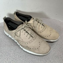 Cole Haan Women's Zerogrand Wing Oxford II Oat Nubuck Size 9.5 B US W06492 - $39.59