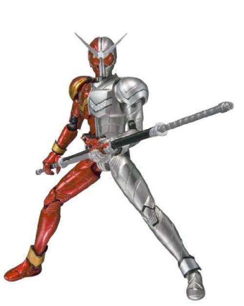 NEW S.H.Figuarts Masked Kamen Rider W HEAT METAL Action Figure BANDAI Japan F/S