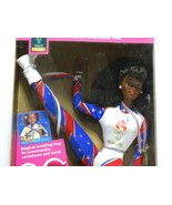 1996 Mattel Olympic Gymnast African American Barbie #15124 New NRFB - $12.38
