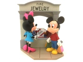 Hallmark Keepsake Disney Mickey & Minnie Christmas Ornament Window-Shopp... - $29.00