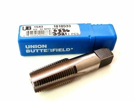 NEW UNION BUTTERFIELD 1543 1010533 1/2 14 NPTF PIPE TAP 0836-3521
