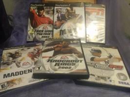 PlayStation 2 Sports Bundle Games - $24.74