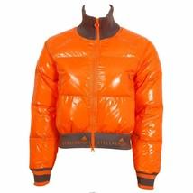ADIDAS STELLASPORT Warm JACKET Coat AC1124 Super ORANGE Puffy FREE SHIPPING - $229.97