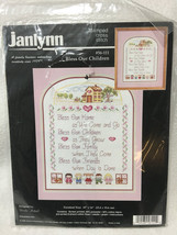 Janlynn Bless Our Children Stamped Cross Stitch Kit 56-111 Ursula Michae... - $16.99