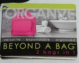 GANZ Brand Beyond a Bag BB224 Raven Color Toiletry Notebook  Organizer image 9
