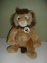 Build A Bear Workshop Stuffed Lion Plush WWF World Wildlife Fund Collect... - $23.00