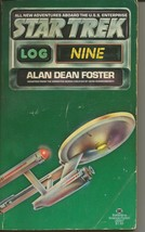 Star Trek Log 9 ORIGINAL Vintage 1977 Paperback Book Ballantine Alan D F... - $19.79