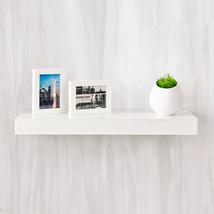 "Way Basics zBoard Wall Shelf 24"", White - $26.99"