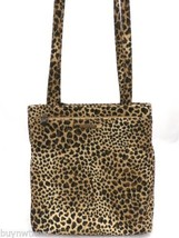 Nine West Animal Print Purse Microfiber Shoulder Bag Matching Change Purse - $43.33