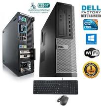 Dell Optiplex  PC DESKTOP Intel i7 2600 3.40g 4GB  NEW 120gb SSD Windows... - $371.18