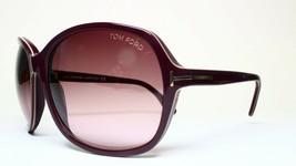 New Tom Ford Tf 186 83Z Sheila Purple Authentic Sunglasses TF186 62-17 W/CASE - $106.65
