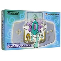 Game Boy Advance Consola AGB-001 en Caja Suicune Azul Pokemon Nintendo G... - $327.32