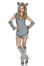 Delicious Wolf Costume, Grey, Small - $61.88