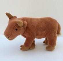 Key Import 17th Century Rare Breed Animal Plush Ox Cow Stuffed Animal To... - $24.75