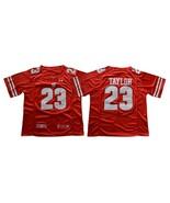 Men's NCAA Wisconsin Badgers #23 Jonathan Taylor College Football Jerseys Red - $40.84 - $42.99