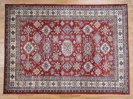 "8'10""x12' HandKnotted Pure Wool Tribal Design Super Kazak Oriental Rug G... - $3,043.26"