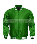 Letterman Baseball College Varsity Quality Bomber Jacket Sports Wear Gre... - $49.98+