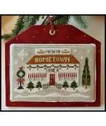 Diner #12 Hometown Holidays cross stitch Little House Needleworks - $5.40