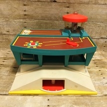 Fisher Price Vintage 1972 Airport Folding Runway Control Tower Baggage C... - $17.95