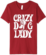 Crazy about Dogs? Must Have Crazy Dog Lady TShirt - $20.00