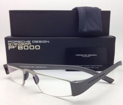 New Reader! PORSCHE DESIGN Eyeglasses P'8801 F 48-20 +2.50 Silver Frame Readers