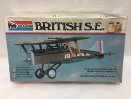 Monogram British S E 5A 1:48 Model Kit # 5205 Complete Vintage - $24.99