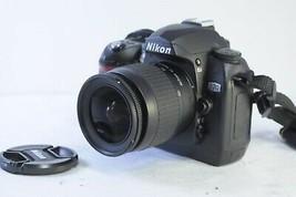Nikon D70 6.1MP Digital SLR Camera-Black with Nikon 28-80mm lens from Japan - $104.94