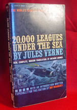 Ray Bradbury - Jules Verne 20,000 Leagues Under The Sea signed on Halloween - $102.90