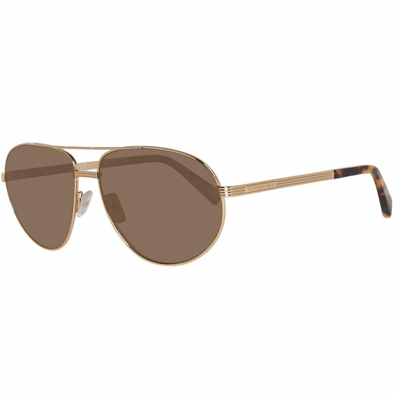 Ermenegildo Zegna Herren Sonnenbrille Gold EZ0030 6232M