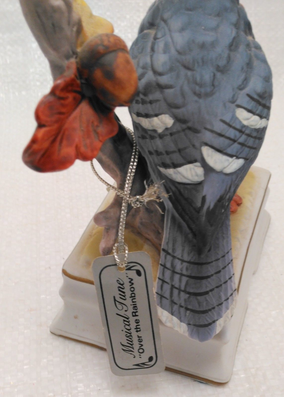 Blue Jay, Music Box, Somewhere Over the Rainbow, Towle, Porcelain