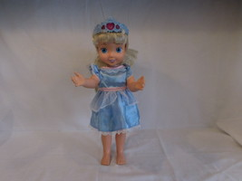 Disney 2006 Cinderella Toddler Talking and Lights up Doll Dressed and works - $21.02