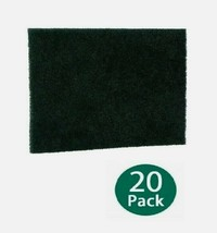 20pk Scotch-Brite SCOUR PADS Black Multi-Purpose Heavy Duty Absorbent Ki... - $30.73