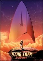 Star Trek Discovery Command Logo Series Poster Image Fridge Magnet UNUSED - $3.99